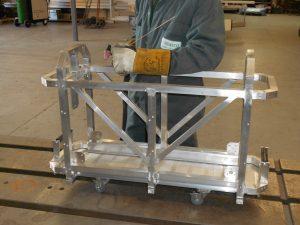 Exhibition Model Cradle
