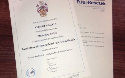 Production Supervisor passes IOSH Managing Safely qualification